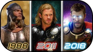 Video EVOLUTION of THOR in Movies (1988-2018) History of Thor Avengers Infinity War MP3, 3GP, MP4, WEBM, AVI, FLV Desember 2017