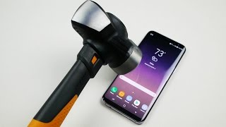 Video Samsung Galaxy S8 Plus Hammer & Knife Scratch Test MP3, 3GP, MP4, WEBM, AVI, FLV September 2017