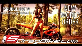 Grudge Racing Drag Bikes | 2013 Grudge Fest V: New World Order DVD Teaser | Rockingham Dragway