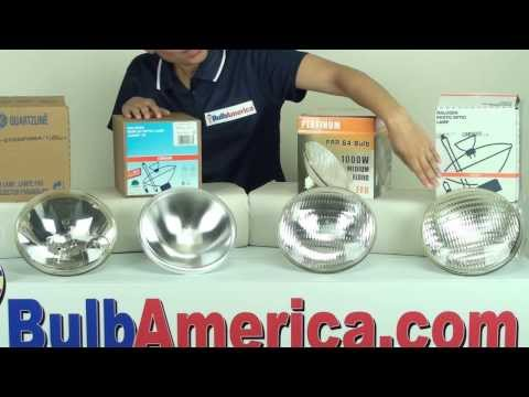 1000 watt PAR64 light bulb differences