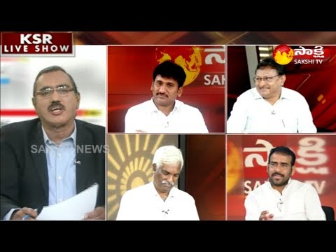 KSR Live Show | Telangana election exit poll  - 8th December 2018