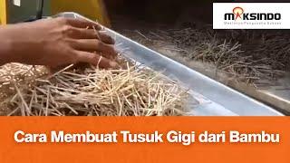 Video Cara Membuat Tusuk Gigi dari Bambu MP3, 3GP, MP4, WEBM, AVI, FLV Juni 2019