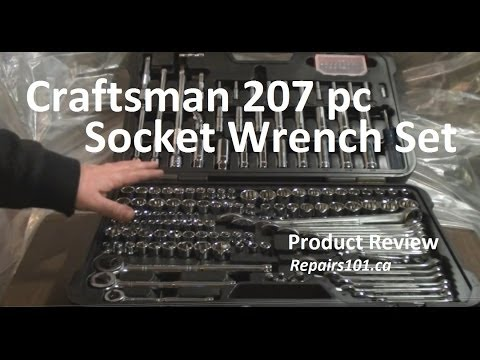 Craftsman - Review of Craftsman 207 piece socket and combination wrench tool set from Sears bought in 2006 for $119.99 CDN. OK now if you're just getting started out buy...