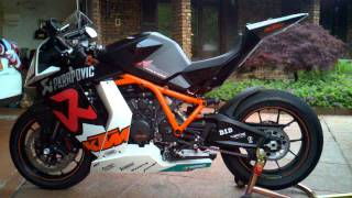 4. RC8R RC8 R 2010 KTM 25 OF 25 LIMITED EDITION AKRAPOVIC