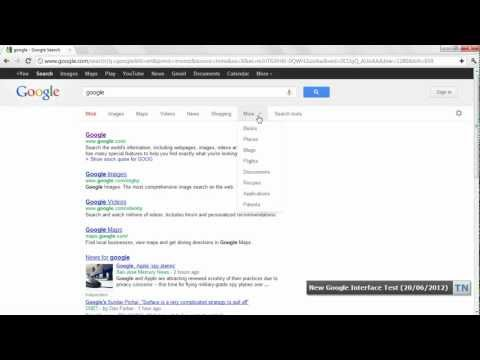 Is Google Testing A New Search Interface?