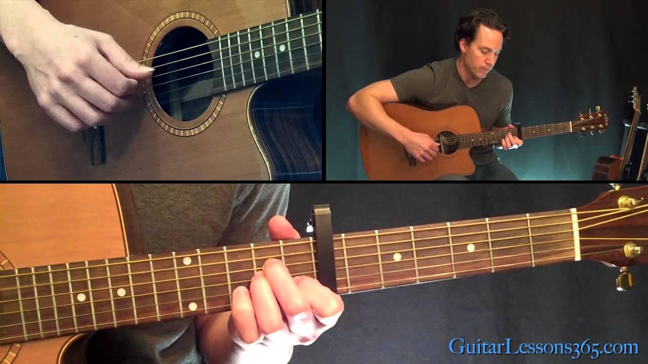Let Her Go Guitar Lesson Pt.1 – Passenger – Intro & Intro Chorus