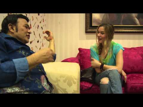 rhoma - I met the legendary Rhoma Irama - the King of Dangdut music, on the outskirts of Jakarta. Rhoma was a very humble guy, considering his huge success in his ho...