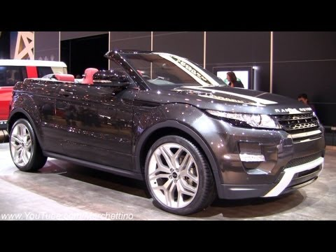 Land Rover Range Rover Evoque 5D Женевский автосалон 2012 Range Rover Evoque Convertible