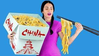 Video 7 DIY Giant Food vs Miniature Food / Funny Pranks! MP3, 3GP, MP4, WEBM, AVI, FLV Oktober 2018