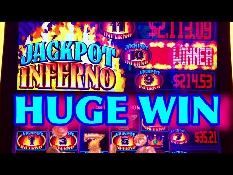 ★HUGE WIN★JACKPOT INFERNO SLOT MACHINE✦JACKPOT WIN✦ MAX BET BONUS!!!!