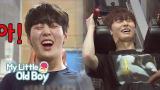 Video JongKook, MinHyun and SungWoon's Body Workout [My Little Old Boy Ep 79] MP3, 3GP, MP4, WEBM, AVI, FLV Maret 2018