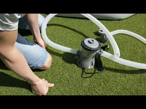 (How to) Install Water Filter to BESTWAY Fast Set Pool - For Summer 2020
