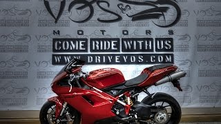 8. 2012 Ducati 848 EVO Walk Around Stock #V1600