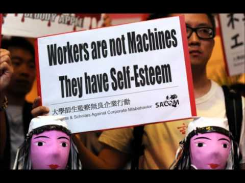 Mike Daisey - The West and its Asian sweatshops