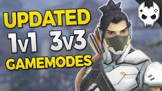 Overwatch new gamemode rules for the 1v1 and 3v3 arena and a fix for draw games #overwatch Hey! Hit that Like button and...