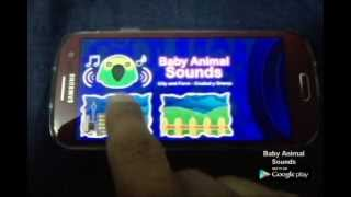 Baby Animal Sounds ( Juego ) YouTube video