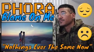 Phora - Blame On Me [Official Music Video] (Jtip Reaction)