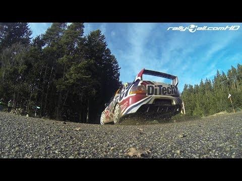 Jänner Rallye 2014 - Shakedown [HD]