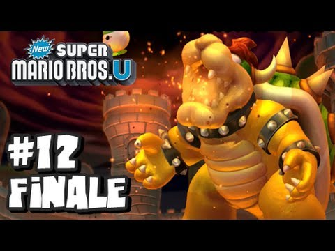 Mario - This is my HD Let's Play with live commentary of New Super Mario Bros U for the Nintendo Wii U! This is part 12 and the FINALE of this Let's Play! In this vi...