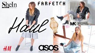 Сегодня покажу свои покупки одежды заказанные мной с сайтов Asos, Shein, Farfetch и H&M Желаю вам приятного просмотра!!!♥ Подписывайся на  мои обновления ♥ http://www.youtube.com/c/YulianaGalich..................................................................................................................Вещи из видео:Set#1:Клетчатое пальто GanniЧёрные skinny джинсы H&MЗелёная водолазка H&MБотинки Челси H&MСумка Chanel BoyЧасы Michail KorsПомада Mac Ruby WooSet#2:Серое базовое пальто Серый пуловер с вышевкой http://bit.ly/2pdNVweЧерные skinny джинсы H&MБотинки челси с острым носом Buffalo LondonСумка Phillip Lim Часы Michail KorsПомада Mac Ruby WooSet#3Кожаная куртка Asos Топ с кружевом http://bit.ly/2pe3BjbСерая бархатная юбка http://bit.ly/2nZOjOSЧасы Michail KorsПомада Mac Velvet Teddy❤️ Спасибо за просмотр!❤️................................................................................................................Смотрите также другие видео 🎬✔︎DIY:https://goo.gl/nFlIxw✔︎HAUL:https://youtu.be/L9-iSdKiVKk✔︎Beauty-t'futy видео:https://youtu.be/XB5VPq_jBpk✔︎Челленджи и теги:https://goo.gl/XqowHA✔︎Lookbook:https://goo.gl/BzrIz2★Спасибо за подписку!★Камера: Canon 6D , GoPro Hero4 Black, iphone 5s, DJI Phantom3 StandardПрограмма: Final Cut ProSound -http://bit.ly/2nPBUeNhttp://bit.ly/2mEuYBBМоя партнерка http://join.air.io/yulianagalich❤️ По  вопросам сотрудничества ulianagalich@gmail.comГде меня найти:❤️ vk -https://new.vk.com/yulianagalich❤️ Я в Instagram- https://instagram.com/ulianagalich❤️ Я в Google+ - https://plus.google.com/u/0/+YulianaG..