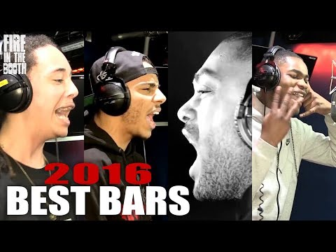 Fire In The Booth Best Bars 2016 inc. Isaiah Dreads, AJ Tracey, Kano, Dave +more