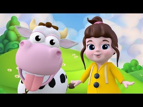 Hayvan Sesleri Çocuk Şarkısı  Möö Desene   Hav Hav Desene   Miyav Desene