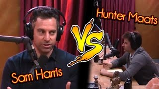 Video Sam Harris Vs. Hunter Maats MP3, 3GP, MP4, WEBM, AVI, FLV Mei 2018