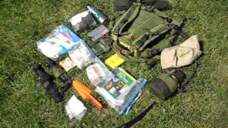 Bug Out Bag Contents (summer)-Urban Survival