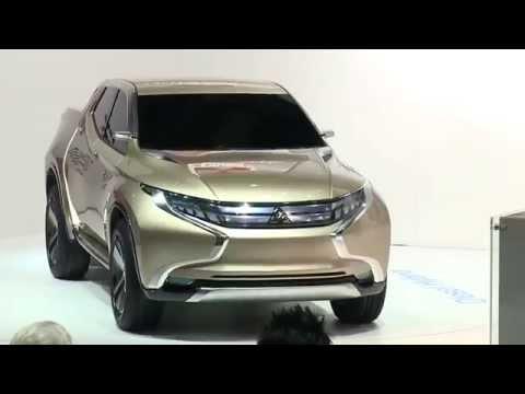คลิป VDO เปิดตัวต้นแบบคันจริง All-New Mitsubishi Triton 2014-2015 GR-HEV Concept