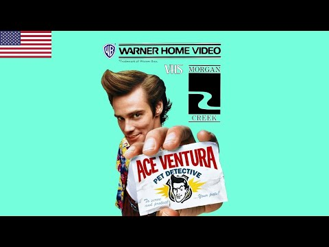 Opening to Ace Ventura: Pet Detective VHS (06-11-94) (USA)