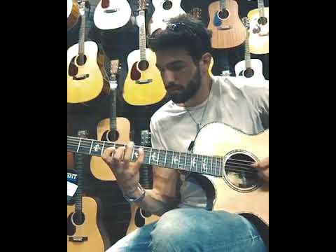 Acoustic guitar improv 1