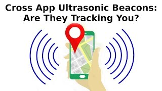 Many Android applications now use a builtin technology that sends ultrasonic sounds to other devices such as laptops, TVs and other android devices to communicate and link profiles together. For more about this disturbing new technology, you can also read here:https://www.bleepingcomputer.com/news/security/234-android-applications-are-currently-using-ultrasonic-beacons-to-track-users/If you enjoy this video, please take a moment to subscribe and share! If you really enjoyed it, give it a like and drop me a comment!Are you interested in helping me grow FastGadgets? Consider visiting my Patreon page and throwing a dollar my way!https://www.patreon.com/FastGadgetsFor more FastGadgets:http://fastgadgets.infoSocial Media:Facebook: https://facebook.com/FastGadgetsChannelTwitter: https://twitter.com/FastGadgetsTechYouTube: https://www.youtube.com/FastGadgetstechVid.me: https://vid.me/FastGadgets