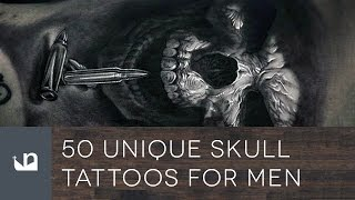 Video 60 Unique Skull Tattoos For Men MP3, 3GP, MP4, WEBM, AVI, FLV Juni 2018