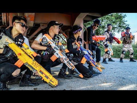 LTT Nerf War : The Expendables SEAL X Warriors Nerf Guns Fight Dr.Lee Crazy Arrest Wanted Criminals