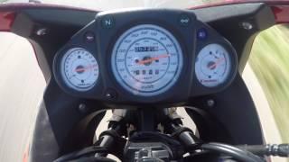 8. Kawasaki Ninja 250 2012 Top speed / 0 - 160km/h