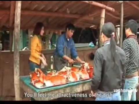 Thưởng thức lợn quay ẩm thực Lạng Sơn