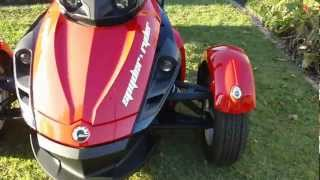 8. FOR SALE MY09 BRP CanAm Spyder Roadster SE5 Semi auto, Fully optioned, 27000km