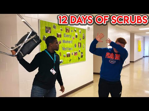 THE MOST INSANE FIGHT EVER...(12 Days of Scrubs #1)