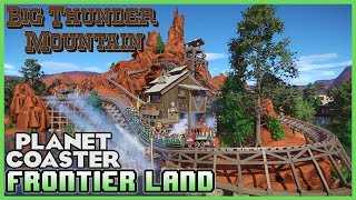 Frontierland section from Disneyland Paris. Including the full Big Thunder Mountain coaster, including station and queues. Created by operatuerEnjoyed the video? Leave a Tip!: https://www.paypal.com/cgi-bin/webscr?cmd=_s-xclick&hosted_button_id=DFULK9FT3WTJLBecome a Patron & Earn Monthly Rewards!: https://www.patreon.com/Channel5GamingLink to download Frontierland recreation: http://steamcommunity.com/sharedfiles/filedetails/?id=940571349&tscn=1496862402Link to operatuer's workshop: http://steamcommunity.com/profiles/76561197994092051/myworkshopfiles/?appid=493340JOIN OUR PLANET COASTER DISCORD COMMUNITY! It's Simple! Download the FREE Discord App on PC or Mobile then add friend: Channel5 Gaming#0054Once I accept (within 24 hours) send me a link to your steam workshop!SPOTLIGHT SUBMISSIONS: Use this form: https://goo.gl/forms/gGjaYTEsGRdl2ghA2Follow me on STEAM workshop!: http://steamcommunity.com/id/Channel5Gaming/myworkshopfiles/?appid=493340Please like my facebook page!: https://www.facebook.com/Channel5-Gaming-1252547981438360Follow me on Twitter: https://twitter.com/Channel5GamingLive on Twitch TV: http://www.twitch.tv/jonny_fivealiveContact Info: Channel5GAD@gmail.com(GAD = Game, Art, & Design)FRONTIERLAND! Big Thunder Mountain! Park Spotlight 66 #PlanetCoaster