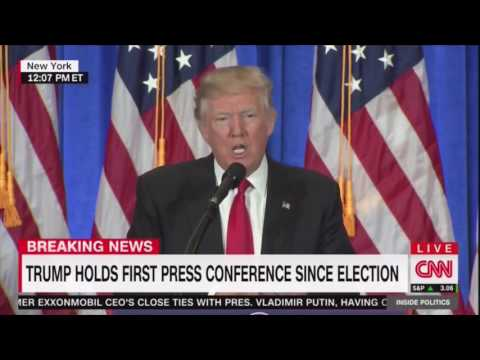 Trump says CNN is fake news
