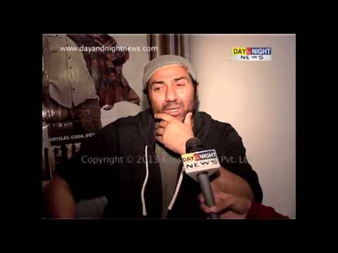 Sunny Deol | Actor | Hindi film 'Singh Saab The Great' | Interview