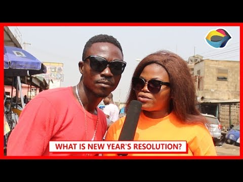 What Is New Year's Resolution?| Street Quiz | Funny Videos | Funny African Videos