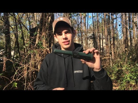Metal Detecting With The New Teknetics Tek-Point Pinpointer Finds Relics!
