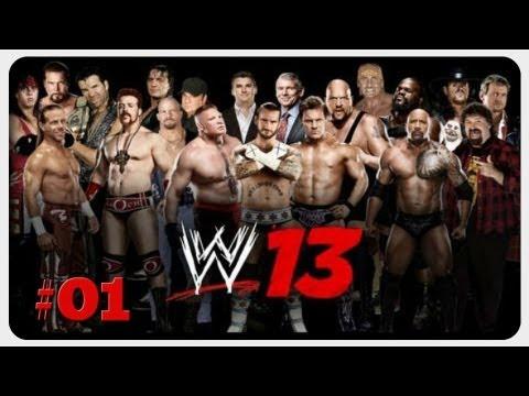Let's Play: WWE '13 | Folge #01 - Attitude Era: D-Generation X - Live The Revolution