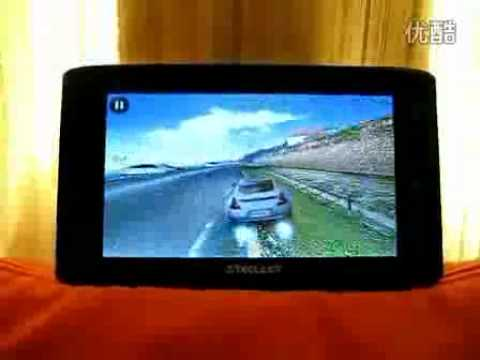 Teclast P71 7 Inch Android 2.3 Tablet PC RK2918 ARM Cortex-A8 1GHZ Playing Racing game