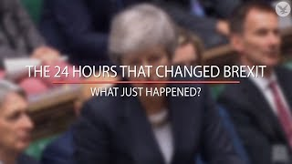 The 24 hours that changed Brexit: What just happened?