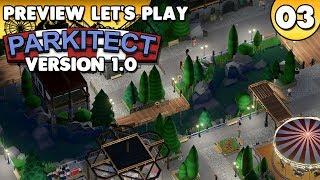 Parkitect 1.0 - Preview Let's Play • #003 [Deutsch/German][Gameplay]
