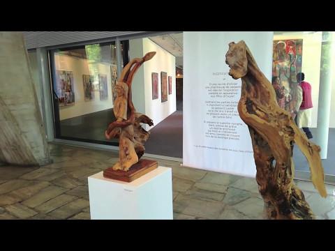"""Exposition Artèmis Antoniou - """"PAR LA MAIN ET LES MOTS"""" Sculptures et poésies"""