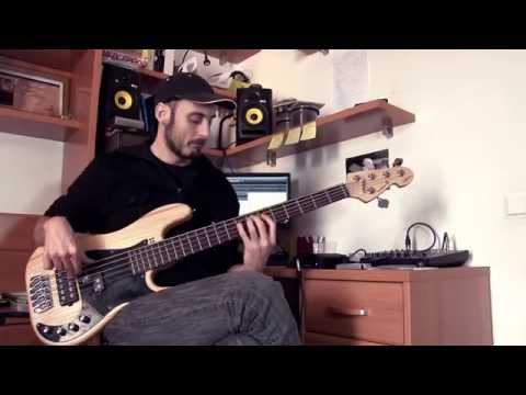 "Funk-Fusion Bass Cover: ""Kangaroo"" – Tab N.1"