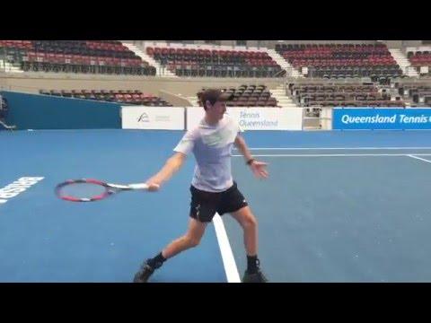 Ryan Smith - 2017 College Tennis Prospect